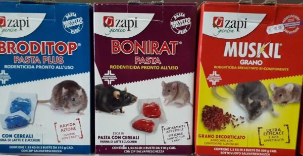 al mulino mangimi - rapida azione contro topi e ratti